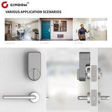 Tuya smart lock for GIMDOW Door Password Electric Hotel Bluetooth Apartment Digital Locker for Safe Smart