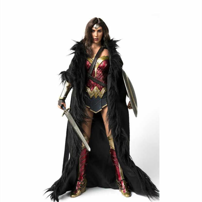 """GACTOYS 1//6 Wonder Woman GC037 Head Sculpt Planted Hair Fit 12/"""" Female Figure"""