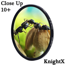 KnightX Macro close up Camera Lens Filter For canon sony nikon 2000d 1200d 400d 60d accessories 49 52 55 58 62 67 72 77 mm zomei pro ultra slim mcuv 16 layer multi coated optical glass uv filter for canon nikon hoya sony lens dslr camera accessories