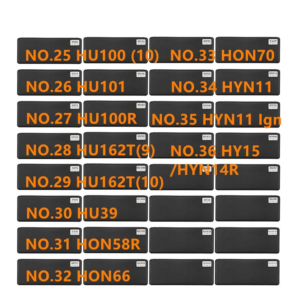 Image 3 - diastar 61 72 lishi 2 in 1 tool NE66 NE38 NSN14 Ign NSN11 SZ14 SIP22 SSY3 TOY43AT TOY 2 track for Renault V.2Locksmith Supplies   -
