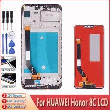 6.26 for for para huawei honor 8c display lcd com painel de toque digitador assembléia substituição para honor paly 8c display lcd