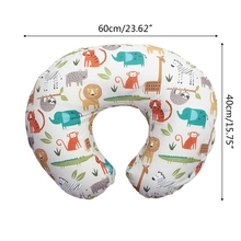 Newborn Baby Nursing Pillows Cover Maternity U-Shaped Breastfeeding Cushion Case BX0D
