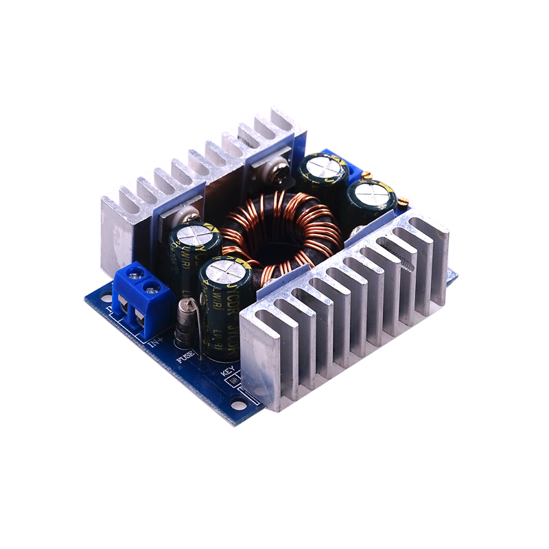 Stable Version DC-DC 8A Automatic Step Up Step Down Adjustable Power Module Integrated Circuits Modules Board 150KHz