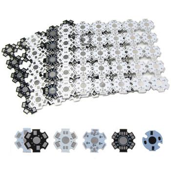 Płyta główna LED aluminiowy radiator płyta podstawowa podłoże 20mm gwiazda RGB RGBW DIY latarka radiator dla 1 3 5 W Watt diody LED wysokiej mocy tanie i dobre opinie QINGYING Piłka 20mm pcb 3 0-3 6 V