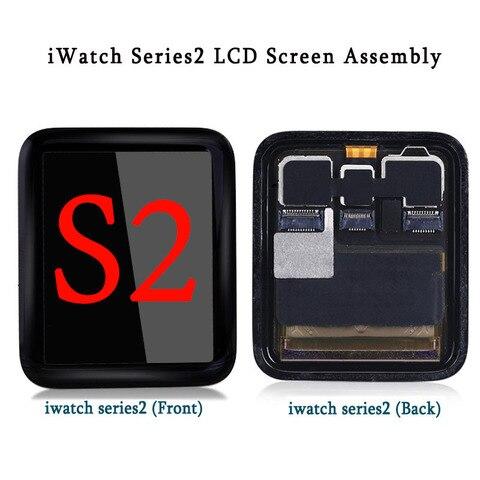 Tela de Toque para Apple Assembléia para Relógio Testado Assistir Série 38mm Esporte Display Lcd Digitador s2 42mm Safira 100% 2