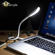 Mini przenośne laptopy USB oświetlenie LED czujnik ściemniania tabeli biurko lampa dla Power Bank Camping PC laptopy Book oświetlenie nocne tanie tanio MERRYLE CN (pochodzenie) 2 years NONE Żarówki led 14led-3ji-KG-XSD 2 8W Protect Eyes Illumination ROHS 5V 500mA 14 led