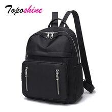 цена на Black Oxford Women Backpacks Ladies Shoulder School Bag Backpack Pink for Girls Travel Fashion Bag Bolsas Mochilas Sac A Dos