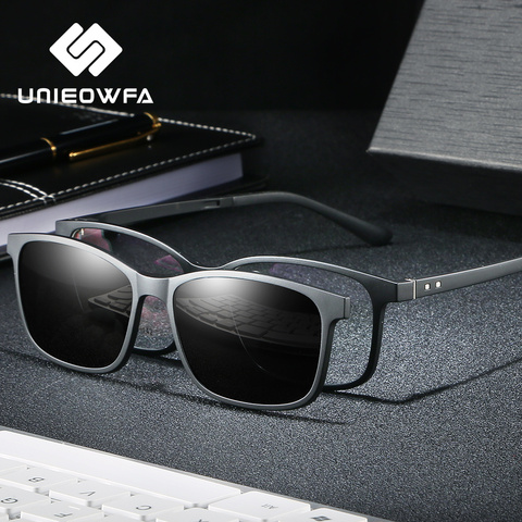 Optical Prescription Glasses Women Myopia Polarized Magnet Clip Sunglasses Men Bifocal Progressive Eyeglasses Anti Blue Light Pakistan