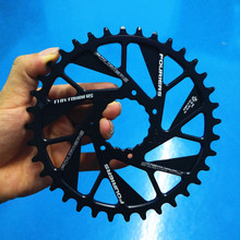 New Fouriers Bike Single Sprockets 0mm Offset Direct Mount For Cinch NEXT SLG4/R/SL Cranks Bicycle Narrow wide Teeth Chainwheel 1pcs black fouriers bicycle single chain ring p c d 104mm 30t 40t 4mm bike chainrings narrow wide teeth