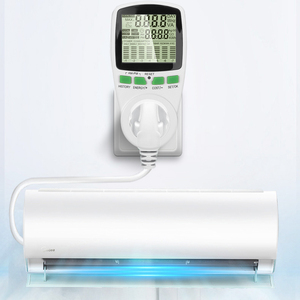 Smart Energy Meter Wattmeter EU US Plug Power Meter Watt Kwh Measuring Socket Analyzer Electricity Wattage Monitor(China)