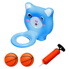 Inflatable Pool Basketball Toy Fun Outdoor Summer Children Swimming Pool Floating Hoops Ball Game Water Sports Toys