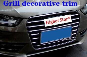 Higher star ABS chrome car Front grill decoration trim,decoration strip for Audi A3,A4L,Q3