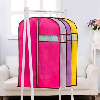 210D tkanina wisząca oxford odzież osłona przeciwpyłowa włóknina garnitur zakryte przechowywanie worek woreczek pyłowy osłona przeciwpyłowa produkty do przechowywania w domu tanie i dobre opinie PRINTED Floral Mieszanie Europa dust cover