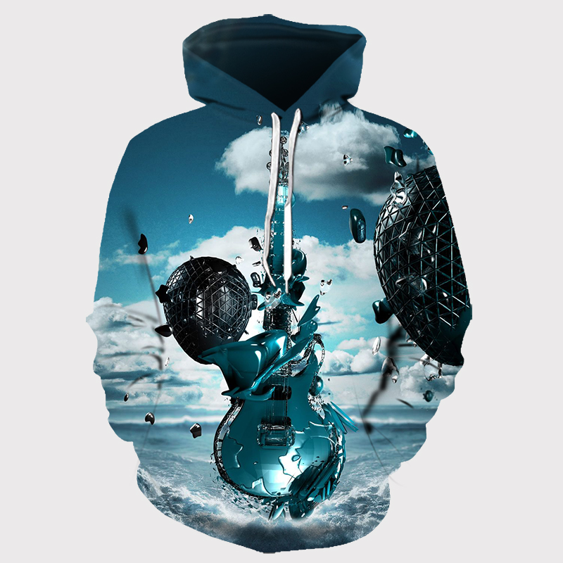 3D Printed Abstract Hoodies Men&Women 21