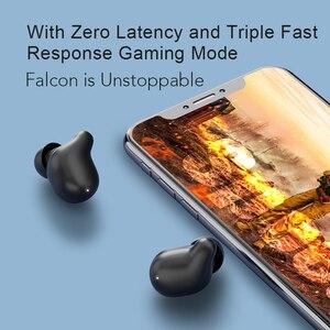 Image 3 - Haylou T15 2200mAh dokunmatik kontrol kablosuz kulaklıklar HD Stereo gürültü izolasyon Bluetooth kulaklık pil seviyesi göstergesi ile
