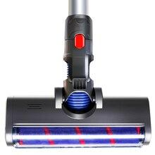 Электрическая моторизованная головка для мытья пола, подходит для Dyson V7 V8 V10 V11, детали для вакуумного пылесоса dyson V8 V10, сменная щетка для пола