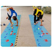 Kids Games Building Hands-And-Feet Group Outdoor-Training Children Fun Toy-Mat Expand-Props