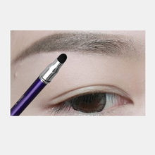 Dark Brown Eyebrow Pencil Non-fading Waterproof Long-lasting Eye Make Up Tool With Brush Pratical Eyebrow Pencil(China)