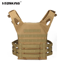 Airsoft Vest Military-Equipment Protective-Plate MOLLE Hunting Outdoor Mens 800D Wargame