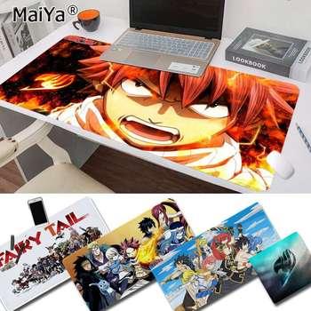 Maiya Hot Sales Anime Fairy Tail Keyboards Mat Rubber Gaming mousepad Desk Mat Free Shipping Large Mouse Pad Keyboards Mat