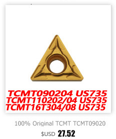 100% original wnmg WNMG080404-GM mc7015 10 pçs