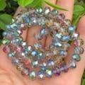 Высокое качество AB цветов радуги из горного хрусталя (стеклянных прозрачных бусин граненые бусины для самостоятельного изготовления ювели...