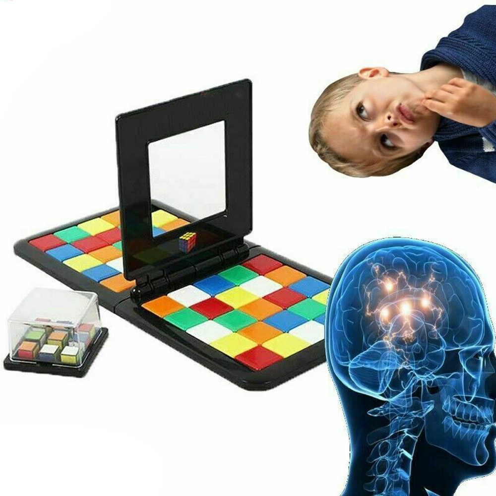 Puzzle Cube 3D Puzzle Race Cube Board Game Magic Cube Education Parent-child Activity Board Education Toy Speed Game Magic Cubes