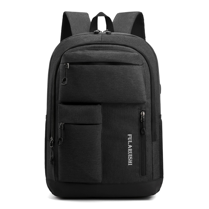 Man Backpack Fit 17 Inch Laptop USB Recharging Multi-layer Space Travel Male Bag Multi-pocket Large Capacity Backpacks Mochila