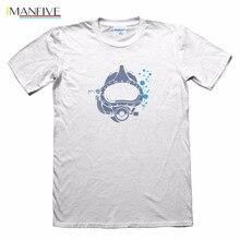 2019 Summer Custom Design T-Shirt Scuba Diver - Mens Funny Gift Tee Shirt