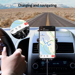 Image 4 - ESR Car Gravity Phone Holder Gravity Stand For iPhone XIAOMI Huawei Mobile Phone Holder Universal  in Car Air Vent Clip Mount