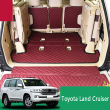 08-19 for Toyota Land Cruiser trunk mat 4000 5700 Middle East version land cruiser tail decoration accessories