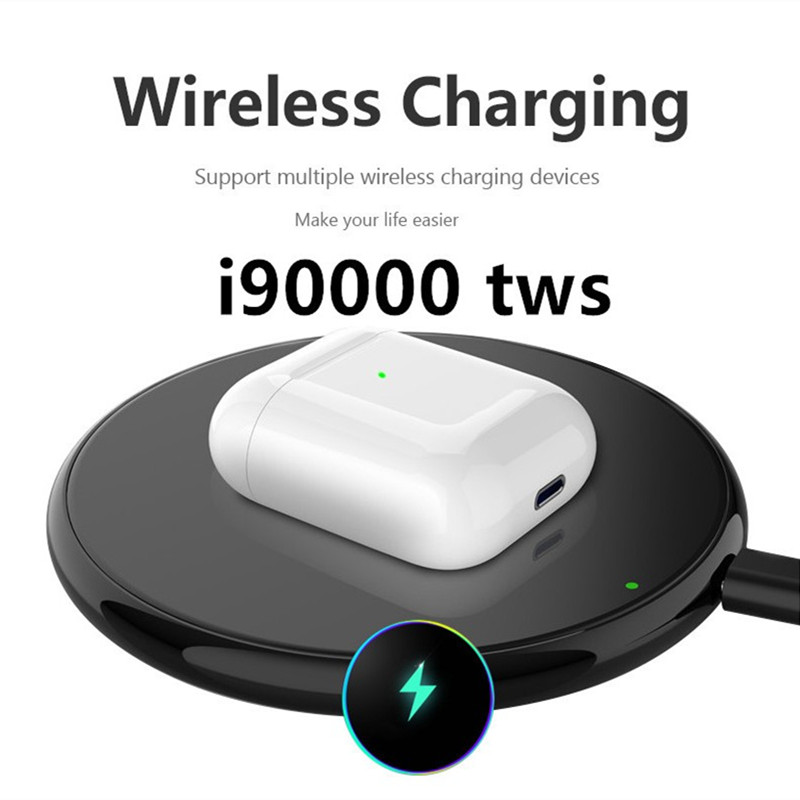 I90000 pop-up TWS sans fil écouteur Air 2 avec étui de charge Bluetooth 5.0 écouteurs écouteurs PK i2000 i5000 i9000TWS