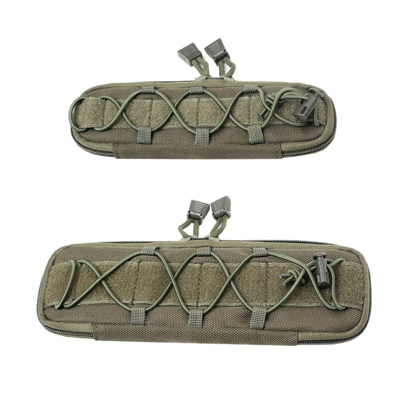 <font><b>Tactical</b></font> Belt Molly Pouch <font><b>Molle</b></font> Waist Vest Pouches EDC Backpack Bag Attachments Hiking Military Hunting magazine Pouch image