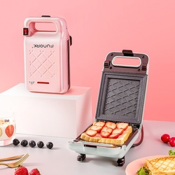 Sandwich Maker Iron Bread Toast Breakfast Machine Waffle Pancake Baking Frying Pan Gas Non-Stick Double-sided heating