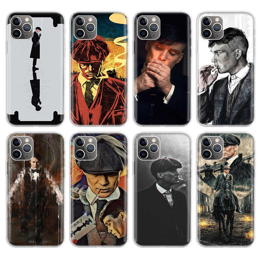 Peaky Blinders Thomas Telefoon Case Voor Iphone Se 5S 6G 6Plus 7 8 8Plus 11 Pro X Xs Xr Max Soft Silicon Tpu Cover Coque Shell