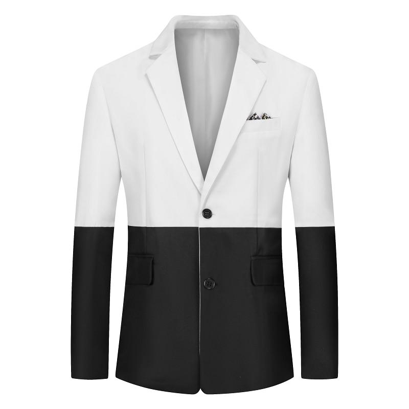 2020 New Men's Casual Suit Jacket Summer Loose Comfortable Mens Thin Suit Jackets Size S M L XL XXL XXXL Men Blazers Coats