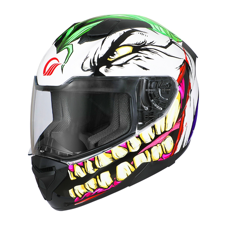 Joker Cosplay Helmet Motorcycle Off-road Professional Full Face Racing Helmet for High risk sports Head Safety Protection X332