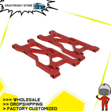 2pcs Machined Alloy Aluminum Front Lower Suspension Arm a-Arms For Rc Hobby Mode