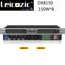 8-Channel Amplifier Stage Leicozic Professional Class-D DX8150 8x250w RMS 4ohm