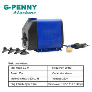 Image 5 - Kit de broche G PENNY/ER20 refroidie à eau, 4 roulements et onduleur VFD de 22 kw et 80mm, pompe à eau 75w, CNC