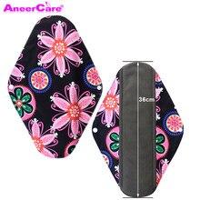 Тканевые менструальные гигиенические многоразовые подкладки, подкладка для трусиков, бамбуковый уголь, для мам