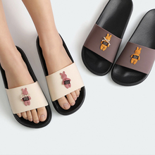 POSEE Cartoon Women Summer Slippers Cute Bear Soft Sole Slides Home Indoor Outdoor Sandals Shoes  2906