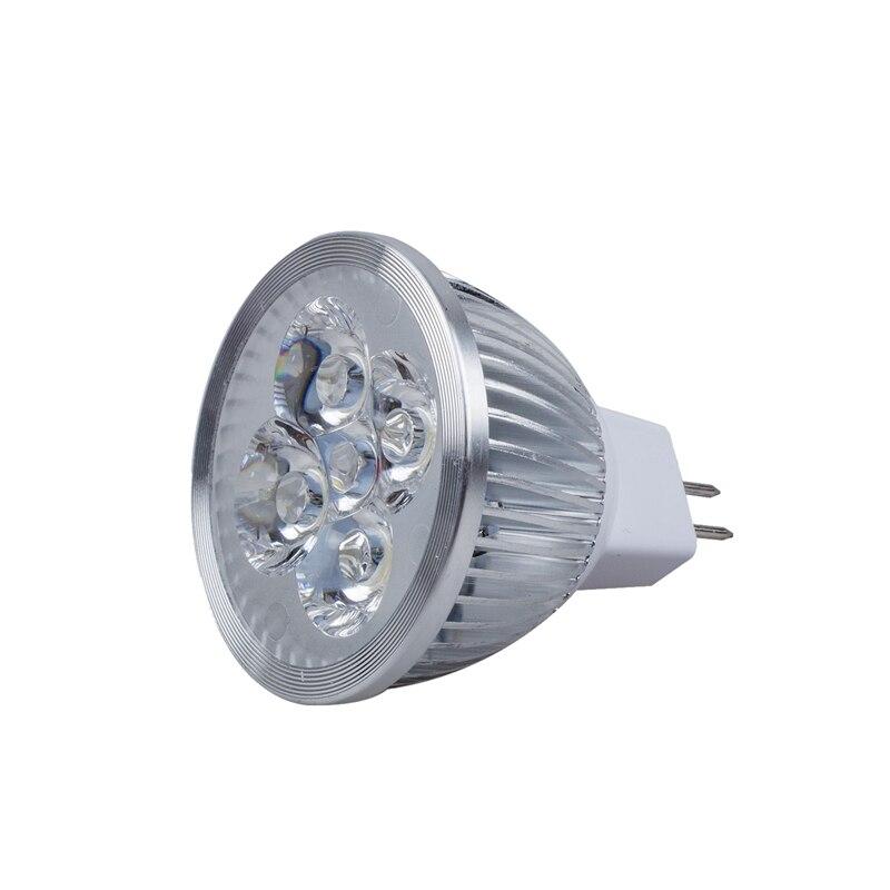 LED MR16 Spotlight 12V 4W (340 Lumen - 50 Watt Equivalent) 3200K Warm 45 Degree Beam Angle