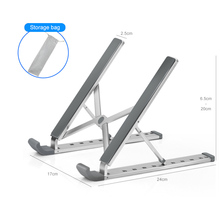 Aluminum Alloy Adjustable Notebook Stand Foldable Laptop Stand For Macbook Air Pro Portable Computer Holder Cooling Bracket