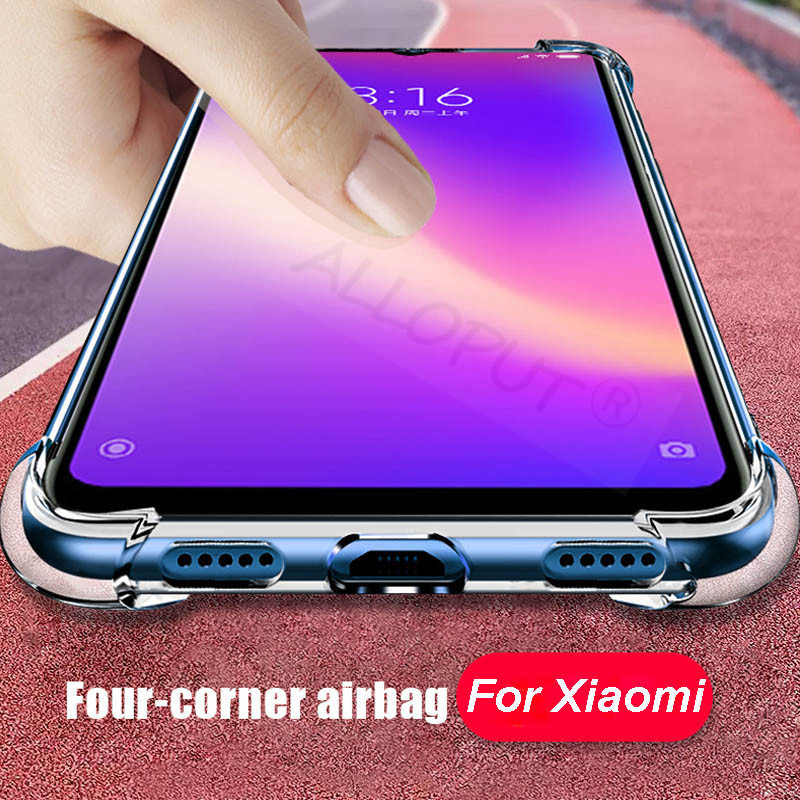 Airbag Silicone Case Redmi Note 7 Xiaomi Clear Cover 1