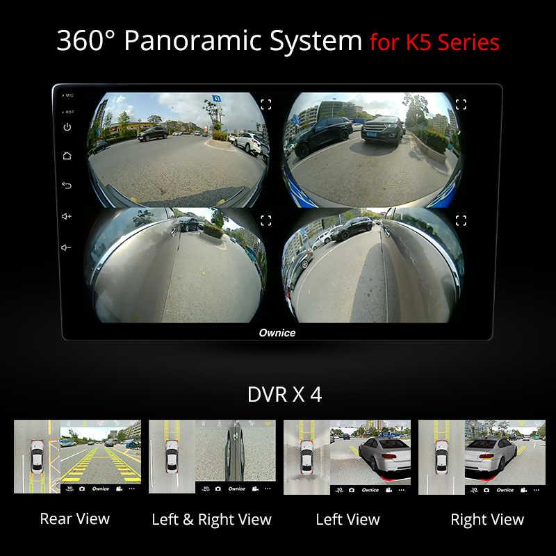 Ownice k3 k5 k6 アンドロイド 9.0 オクタコア車の Gps 用 DVD プレーヤーモンデオ 2013 2014 2015 2016 2017 カーオーディオ DSP 4 4G LTE SPDIF
