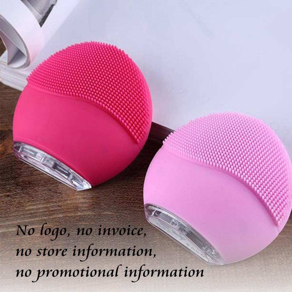 Vip Link For Dropshipping LUNAING Electric Silicone Facial Cleansing Brush USB Rechargeable Deep Pore Cleanser Mini 2 YMJ04