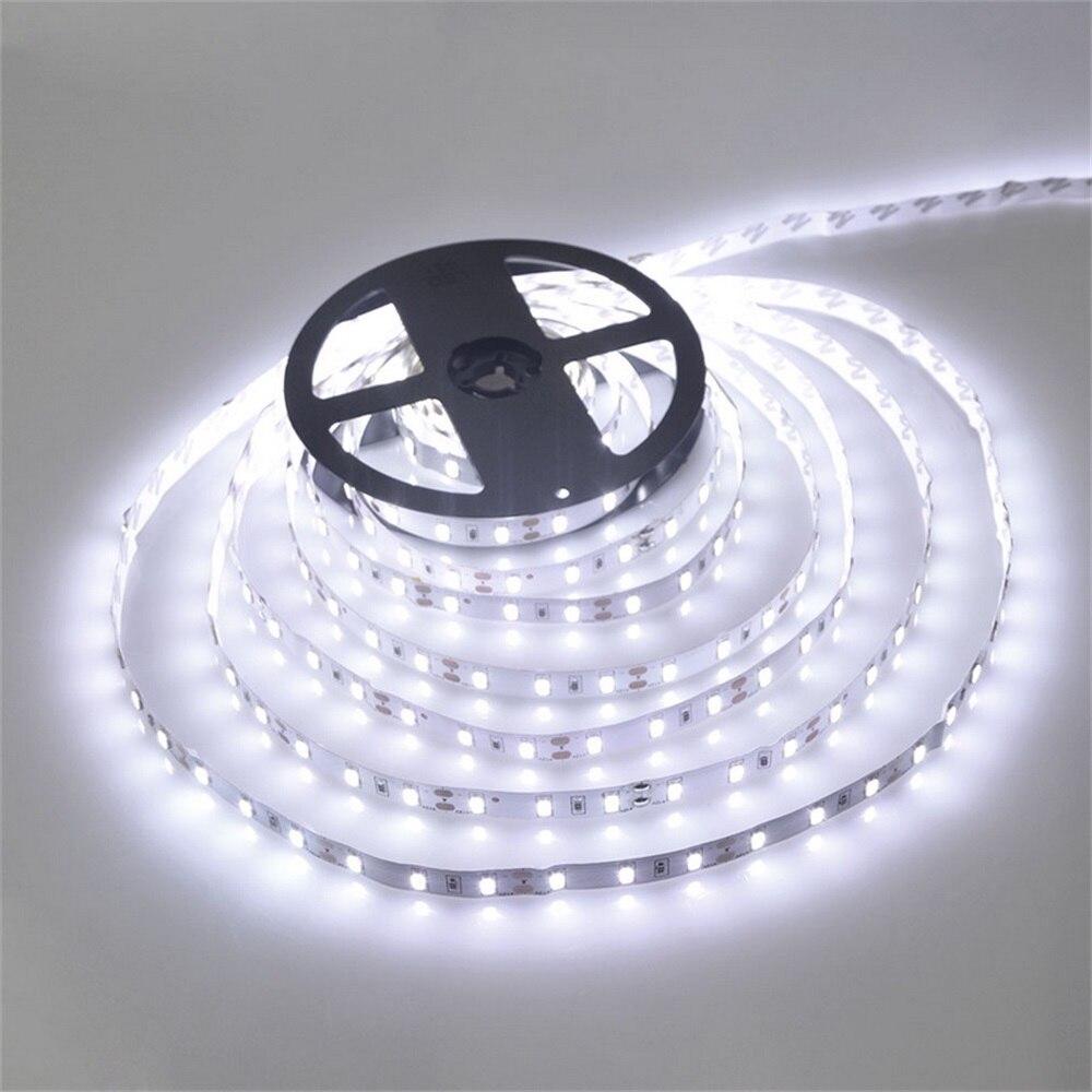 5 м 300 светодиодный светильник 12В лента ярче SMD3528 холодный белый/теплый белый/голубой/красный/зеленый/синий