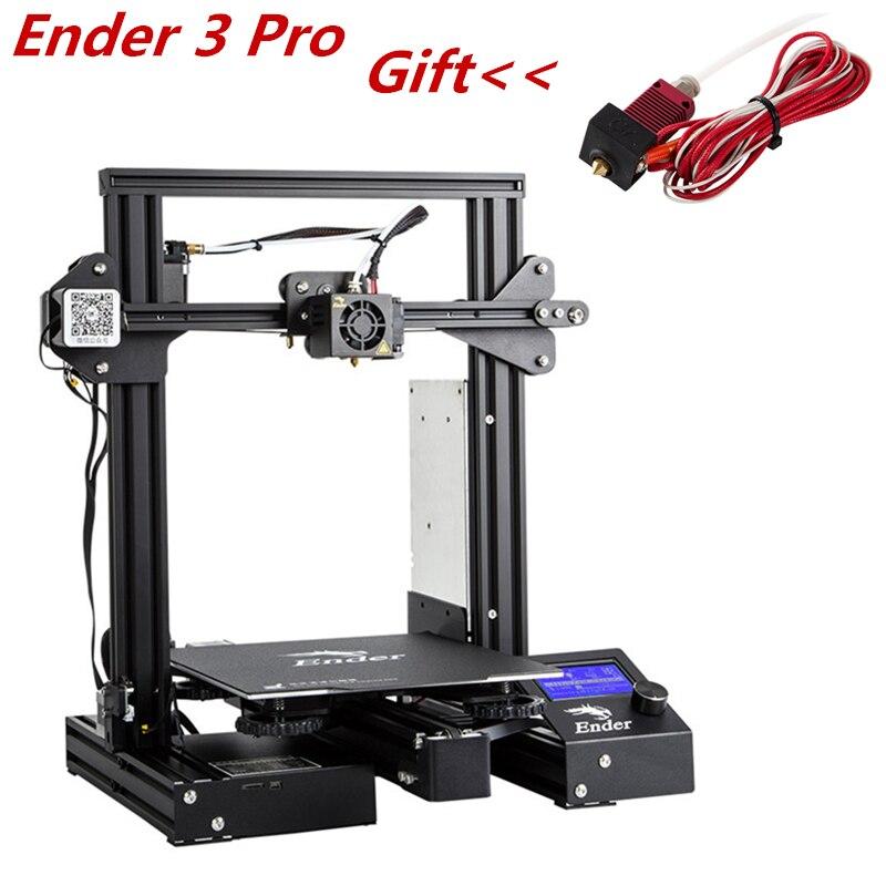 Ender-3 Pro Criatividade DIY KIT de Atualização 3D PrintHigh Precisão 3D Criatividade Retomar o Poder Falha de Impressão Criatividade 3D