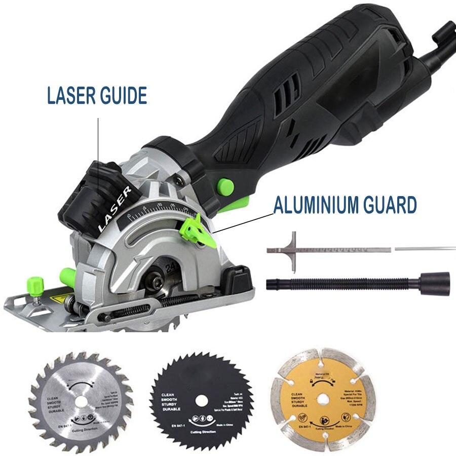 freeshipping for RU Electric Mini Circular Saw powerful TILE/PVC WOOD Cutting 89MM